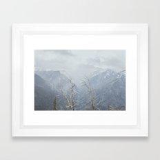 North Cascades V Framed Art Print