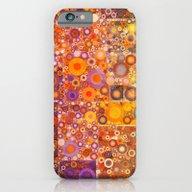 Autumnal Circles iPhone 6 Slim Case