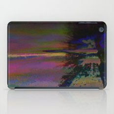 19-46-12 (Black Hole Glitch) iPad Case