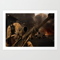 The Sniper Art Print