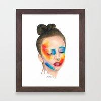Make 'em Touch Framed Art Print
