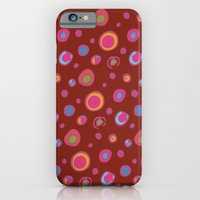 iPhone & iPod Case featuring DOTTIE FUSHIA by Kim Moulder