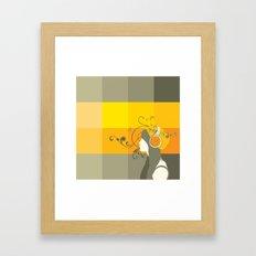 freedom in music Framed Art Print