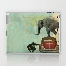 Looking for Tiny _ elephant on a red VW beetle Laptop & iPad Skin