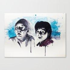 Doc & Marty Canvas Print