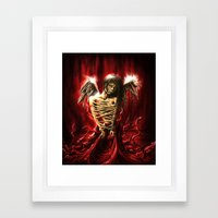Bound Framed Art Print