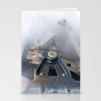 Brass And Steam Stationery Cards