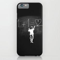 One Plus One Equals Love iPhone 6s Slim Case