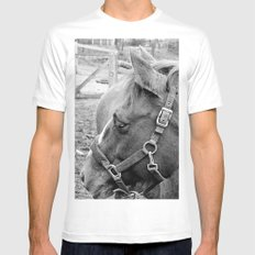 Jesse White SMALL Mens Fitted Tee