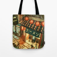 Ramen In The Alley Tote Bag
