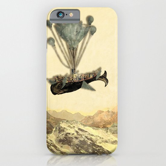 whale flight I iPhone & iPod Case