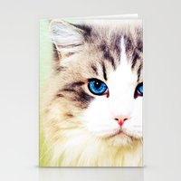 Eye of Cat - for iphone Stationery Cards
