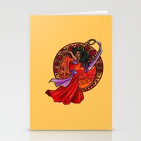 Esmeralda Stationery Cards