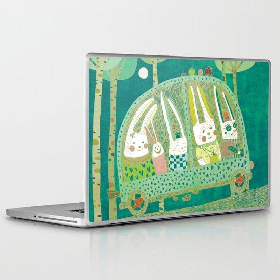 Rabbit journey Laptop & iPad Skin