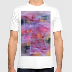 Star SMALL White Mens Fitted Tee