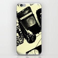Shockin' White Light Guitar iPhone & iPod Skin