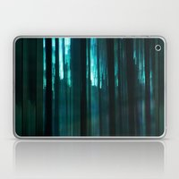 Forest In Emerald Green Laptop & iPad Skin