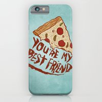iPhone & iPod Case featuring P-I-Z-Z-A by Josh LaFayette