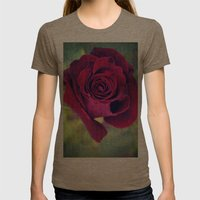Waiting  Womens Fitted Tee Tri-Coffee SMALL