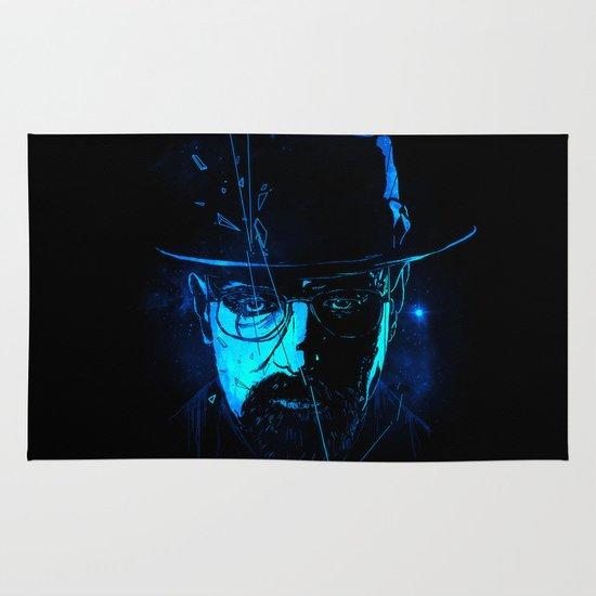 Mr. White (Crystal Blue) Area & Throw Rug