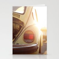 vw Stationery Cards featuring VW  by Urban Frame Photography