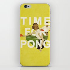 Time For Pong iPhone & iPod Skin