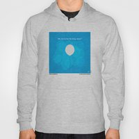 No134 My UP minimal movie poster Hoody