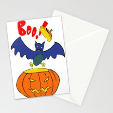 Halloween Bat  Stationery Cards