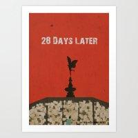 28 Days Later Art Print
