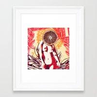 Sugar and Spice Framed Art Print