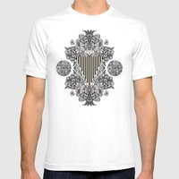 C.W. xx Mens Fitted Tee White SMALL