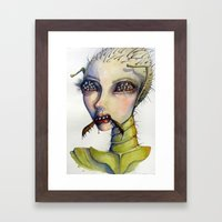 If I Were A Bug Framed Art Print
