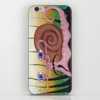 Toulouse the French Snail iPhone & iPod Skin