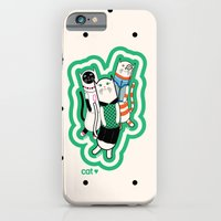 iPhone & iPod Case featuring Joana's cats by filipa nos campos
