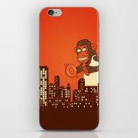 Monkey On Your Back iPhone & iPod Skin