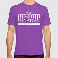 Bishop Arts District Mens Fitted Tee Ultraviolet SMALL