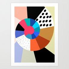 Color Mix 2 Art Print