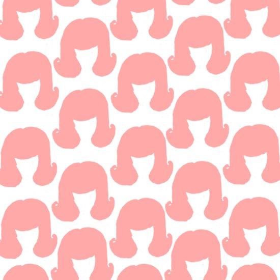 Pink Bouffants Canvas Print