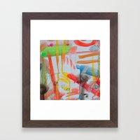 Spontaneous Moods Framed Art Print