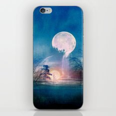 Moon Above, Sun Below iPhone & iPod Skin