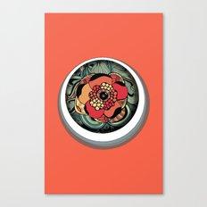 Profundidad Canvas Print
