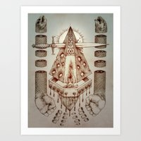 Vagamid - Lord of Fish Art Print