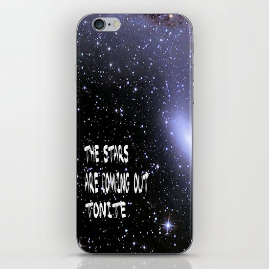 the stars are coming out tonite  U.S. iPhone & iPod Skin