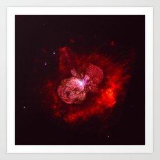 Red Star Division Art Print