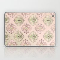 Damask Pattern Peach Laptop & iPad Skin
