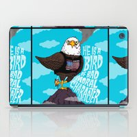 He Is A Bird Of Mad Mora… iPad Case