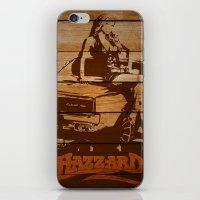 Hazzard Wood iPhone & iPod Skin