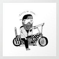 Route 66 Lover Art Print