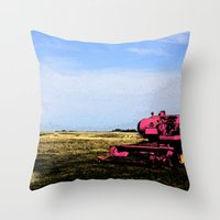 Rollin' In Style Throw Pillow