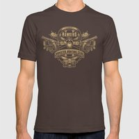 Hawkins Monster Hunting Club Mens Fitted Tee Brown SMALL